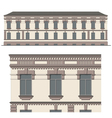 The facade of the building vector | Price: 3 Credits (USD $3)