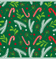 christmas holiday pattern winter vector image vector image