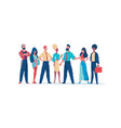 group business people teamwork business team vector image vector image