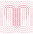 heart shaped love concept background design - vector image vector image