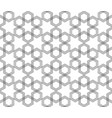 seamless black and white hexagonal arabic muslim vector image vector image