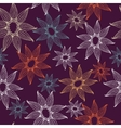 seamless texture with lacy flowers Endless vector image vector image