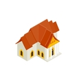 Thai traditional house icon isometric 3d style vector image vector image