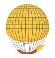 aerostat icon cartoon style vector image vector image