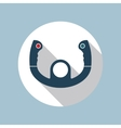 aircraft steering helm icon