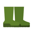 boots shoes icon image vector image vector image