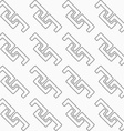 Dotted diagonal fastened arcs vector image vector image