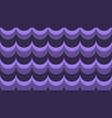 flat fashionable stylish wavy purple background vector image vector image