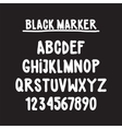 Font vector image