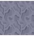 Geometric dark-grey camouflage seamless pattern vector image