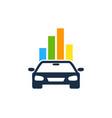 graph automotive logo icon design vector image vector image