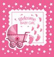 happy baby shower vector image