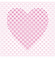 heart shaped love concept background design vector image vector image