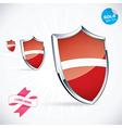 I Love Latvia Flag vector image vector image