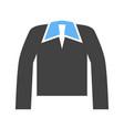 polo shirt icon vector image vector image