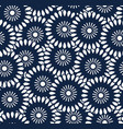 seamless pattern in bali batik style vector image