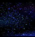 stars sky background vector image vector image