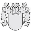 aristocratic emblem No24 vector image vector image