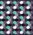 blueberry background pattern color hexagon vector image