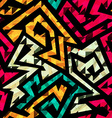 bright tribal seamless pattern vector image vector image