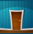 cartoon door plinth wall-papers wall handle vector image