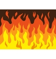 fire - cartoon vector image vector image