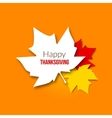 Happy Thanksgiving Day background with beautiful vector image