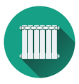 Icon of Radiator vector image vector image