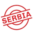 Serbia rubber stamp vector image vector image