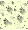 star seamless patterns vector image vector image