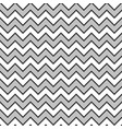 zigzag wave pattern background monochrome colors vector image vector image