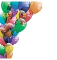 Colorfull Balloons Background vector image vector image