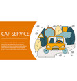 concept of car service vector image