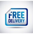 delivery service concept isolated icon vector image