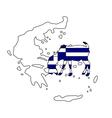 Greek he-goat vector image vector image