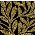Grunge retro gold glitter pattern of colored vector image
