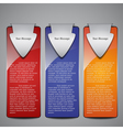 sale banner collection vector image vector image