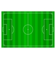 Soccer football field infographics flat app vector image