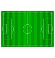 Soccer football field infographics flat app vector image vector image