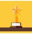 Star award icon vector image