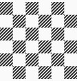 abstract seamless pattern of striped squares vector image vector image