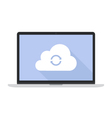 Cloud Sync vector image vector image