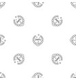 jewelry pattern seamless vector image vector image