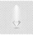 Light effects fall on the diamond making glare