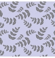 Seamless pattern branches with leaves vector image vector image