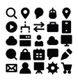 Seo and marketing solid icons 3