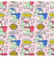 superhero seamless pattern print design vector image
