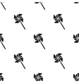 Toy windmill black icon for web and vector image vector image