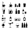 Drinks icons set vector image