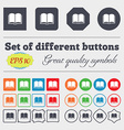 Book icon sign Big set of colorful diverse vector image